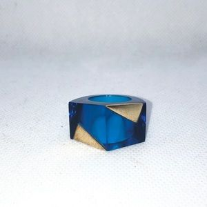Patricia Field Jewelry - HSN for Patricia Field Noir Ring Cobalt Blue